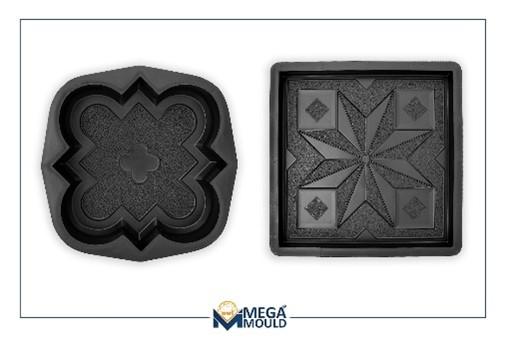 пластиковая форма для плитки